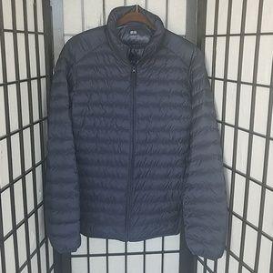 Uniqlo Dark Blue Lightweight Jacket Adult Small